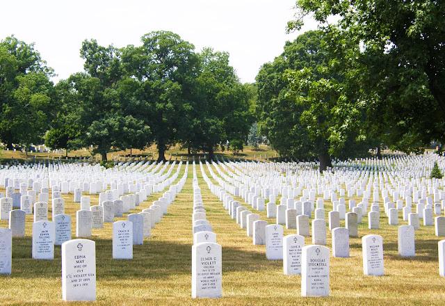 Cementerio de Arlington en Washington