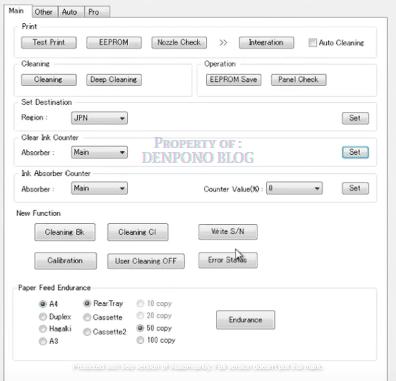 Langkah-langkah reset printer canon ip 2770