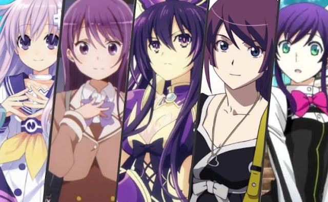 Karakter Anime Perempuan Berambut Ungu Terbaik dan Tercantik