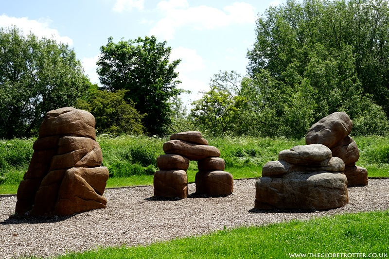 Play Boulders - Lee Valley Sculpture Trail