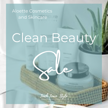 clean beauty sale, clean skincare, aloette sale, aloette discount, skincare sale, aloette skincare
