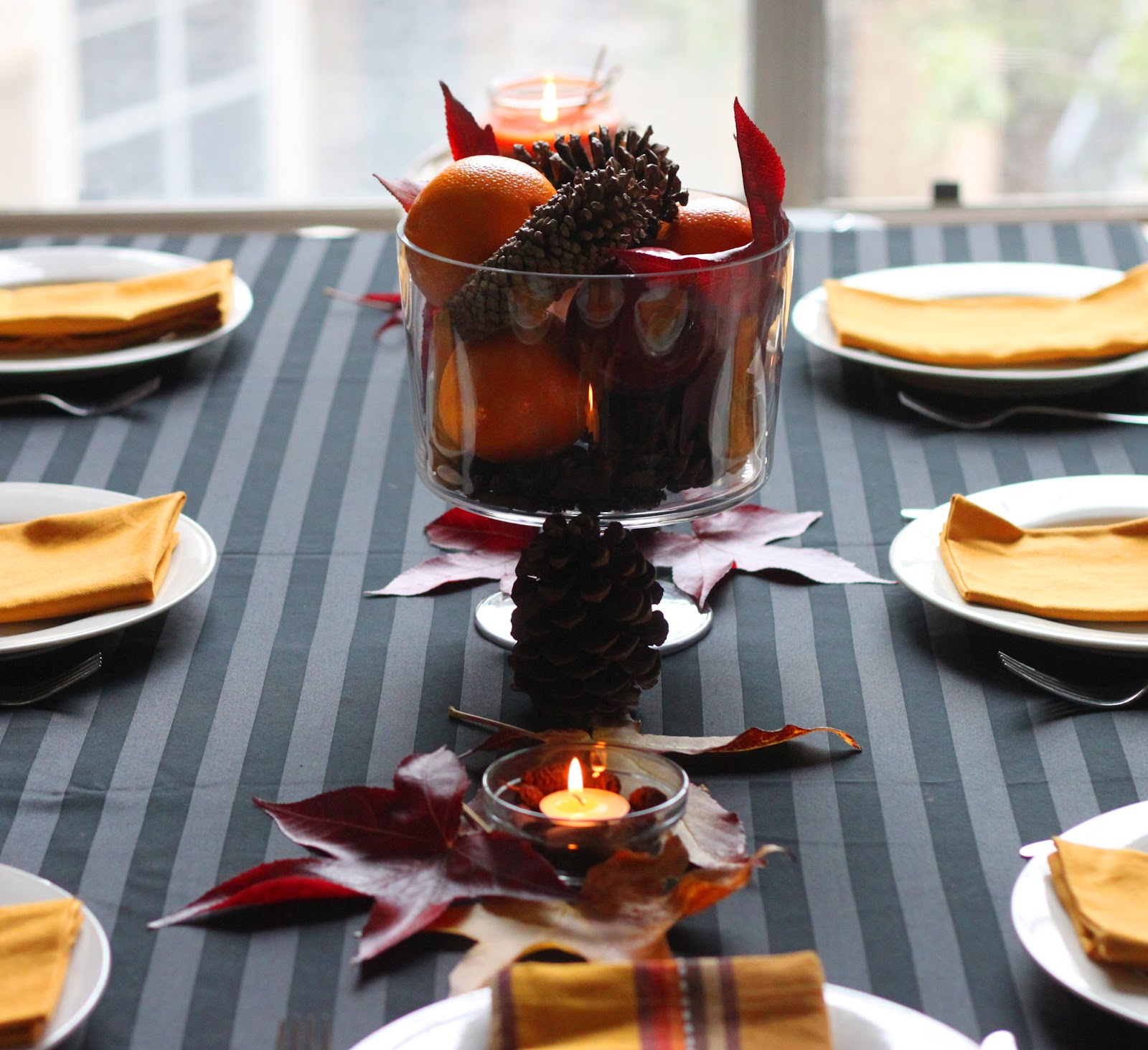 Thanksgiving Decoration Ideas For Table: The Cilantropist: Honey Cornbread Muffins, And My