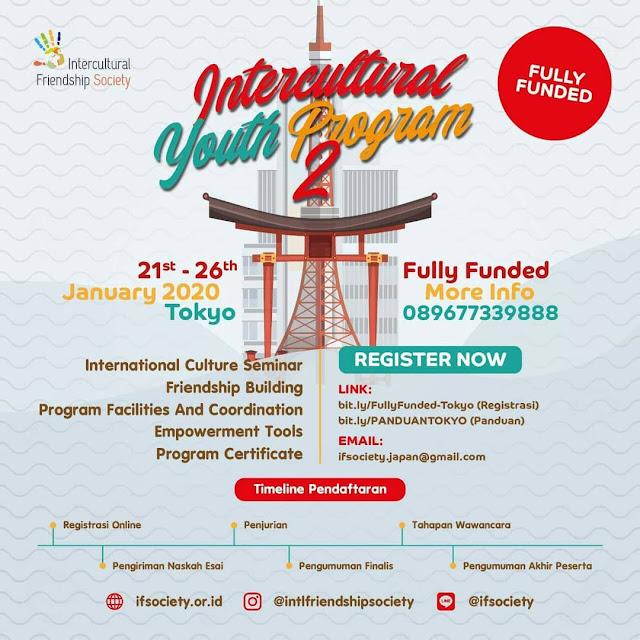 Program Pertukaran Pemuda Intercultural Youth Program Tokyo Japan