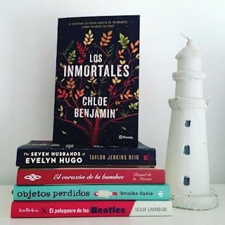 """""""Los inmortales"""" de Chloe Benjamin"""