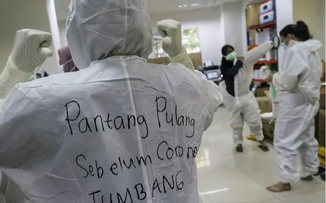 Januari 2021, 148 Jenazah Pasien Covid-19 Di makam kan di TPU Jombang Tangsel
