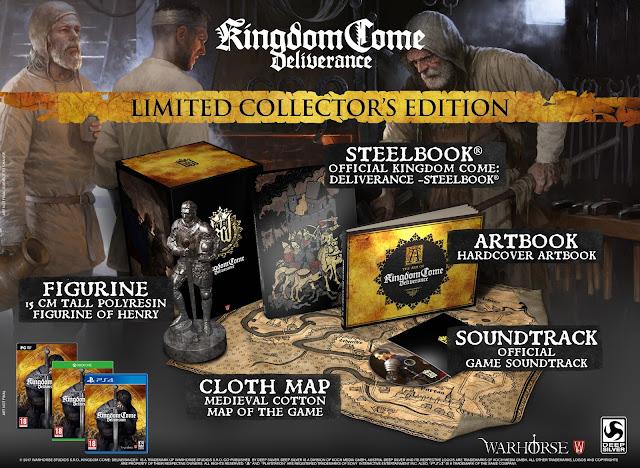 Kingdom Come Deliverance presenta sus ediciones especial y limitada