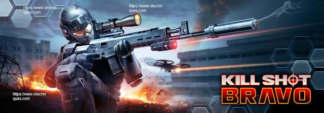 لعبة القناص الرائعة Kill Shot Bravo للاندرويد