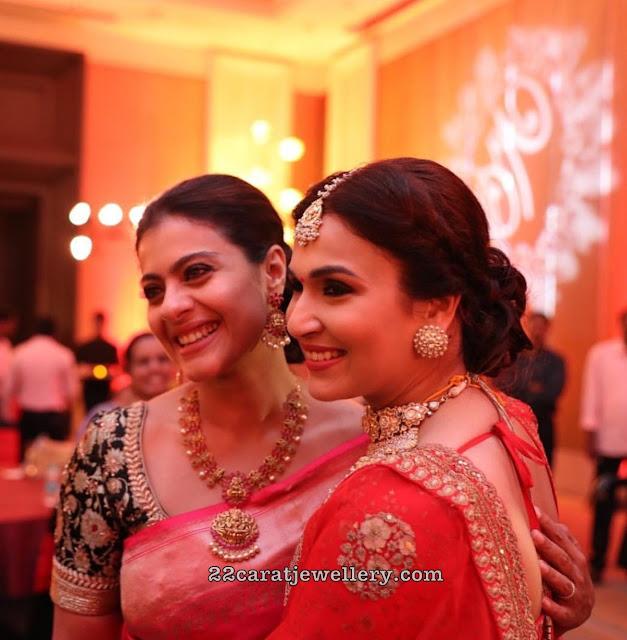Kajol in Lakshmi Haram with Ruby