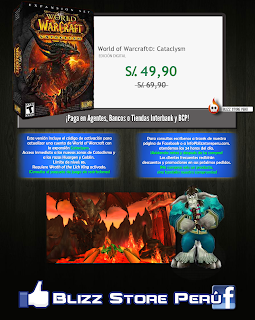 Cataclysm World of Warcraft en Perú