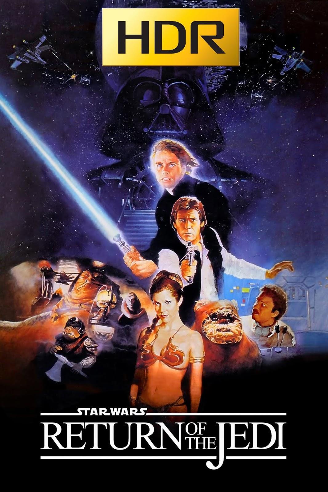 Star Wars: Episodio VI (1983) 4K UHD HDR Webrip Latino