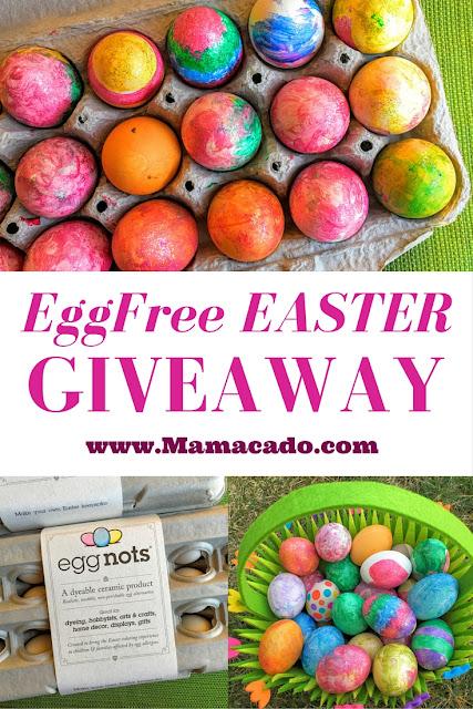 EggNots EggFree Easter Giveaway