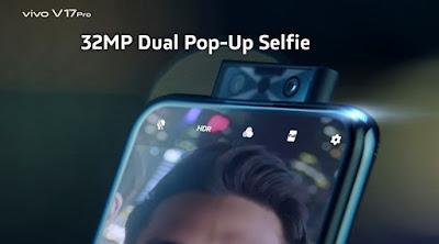 fitur Dual Pop-Up Selfie 32 MP vivo V17 Pro