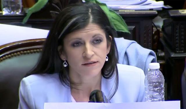 """Fernanda Vallejos dijo que """"Vicentin no solo tiene deudas sino también miles de trabajadores con incertidumbre"""""""