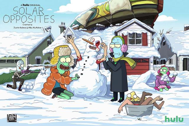Nova animação dos criadores de Rick & Morty, Solar Opposites, estreia em maio