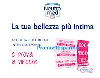 Logo Concorsi Neutromed ''La tua bellezza più intima'' : vinci buoni spesa da 50 e 500 euro