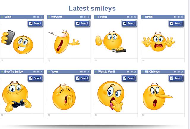 Kumpulan Kode Emoticon Facebook Paling Lengkap Terbaru 2018/2019