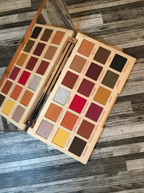 Review and Swatches: Revolution Soph Extra Spice Palette
