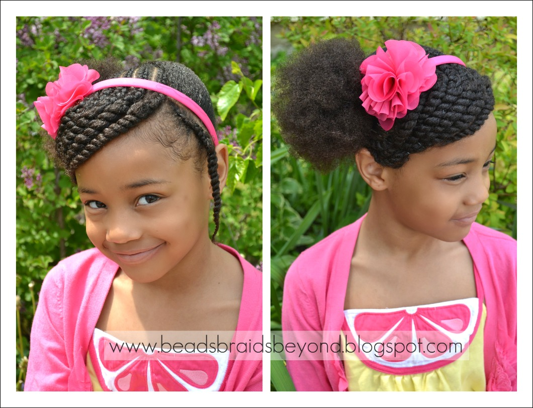 Braided Hair Styles For Little Girls: Beads, Braids And Beyond: Little Girls Hairstyle: Side
