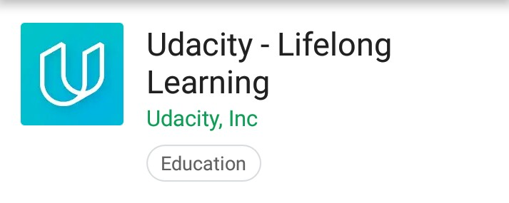 Udacity: An Android App for Free Artificial Intelligence, Data Science, Programming Courses