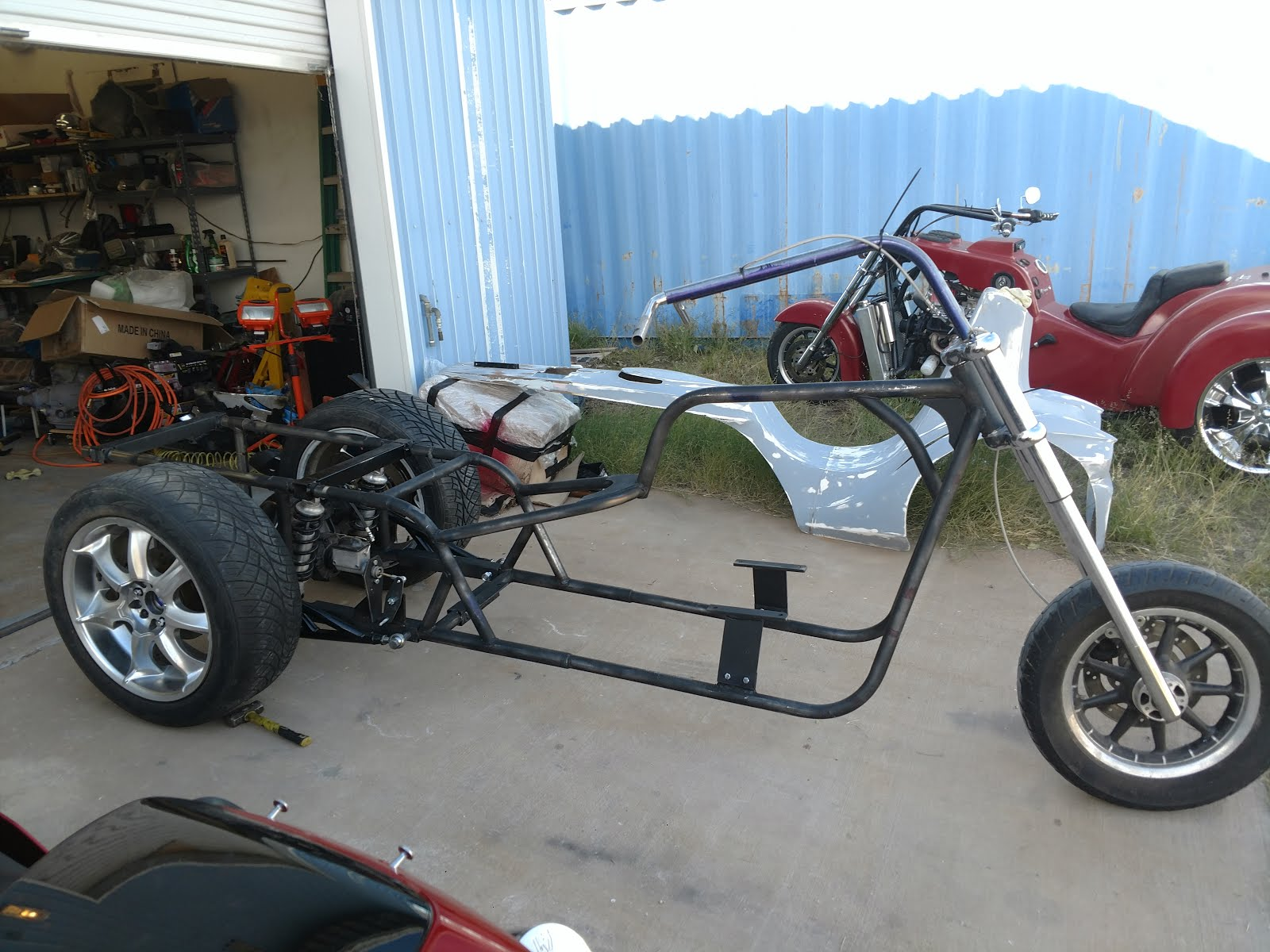 new school ford  rolling chassis