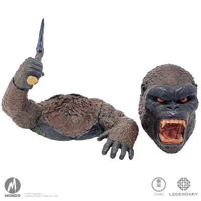 San Diego Comic-Con 2021 Exclusive Godzilla vs Kong Mondoids Vinyl Figures by Mondo