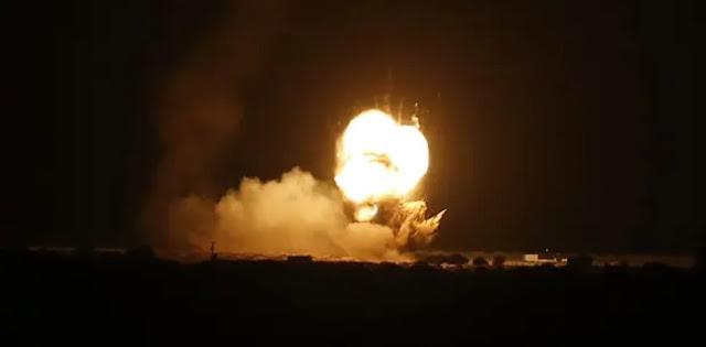 Roket-Roket Israel Kembali Hantam Gaza