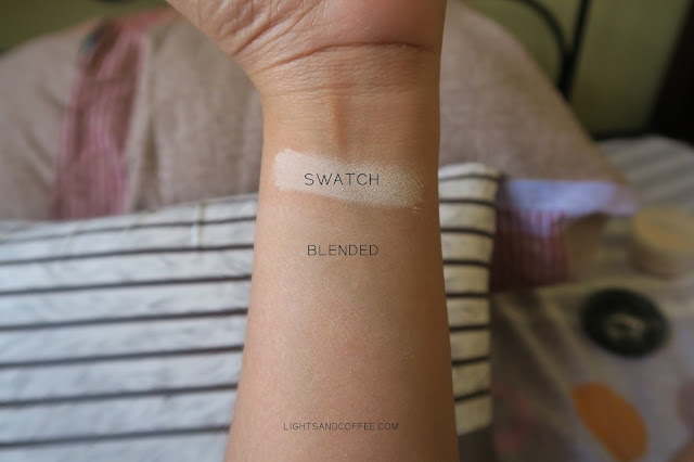 Swatch of Nichido Creamy Glow