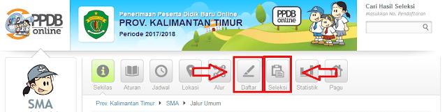 Cara Cek PPDB Online untuk SMA dan SMK 2017/2018