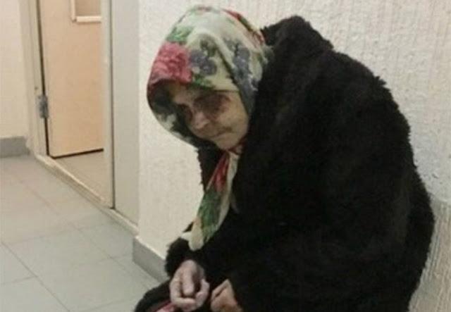 Старушку избили в аэропорту, но милиция и медики отказались ей помогать, считая, что она бомж…