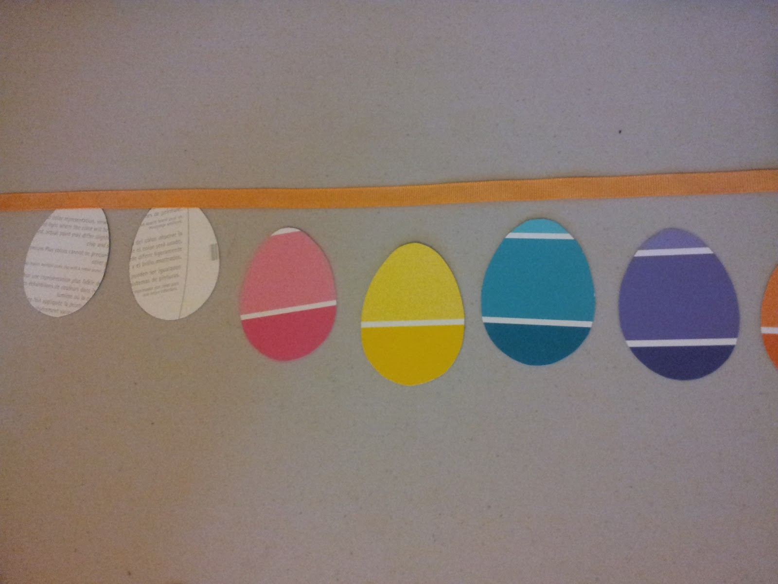 Paint Chip Egg Banner Find It Make It Love It