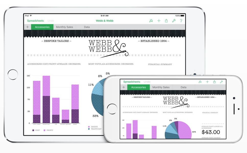 iWork更新支援El Capitan和iPhone 6s 3D Touch | 愛瘋日報