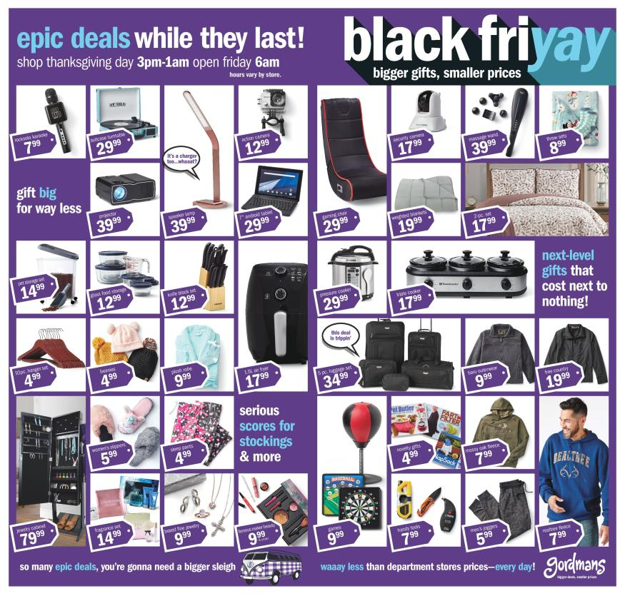 Checkout Gordmans Black Friday 2019 Page 2