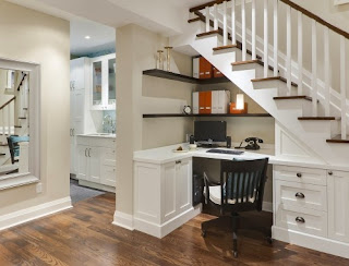 6 ide kreatif memanfaatkan ruang bawah tangga - desain