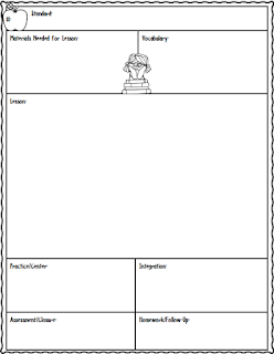 Lesson Planning Sheet