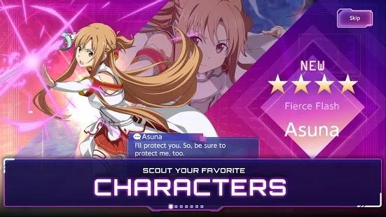 SAO Alicization Rising Steel Screenshot
