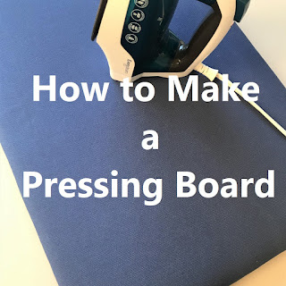 how to make a pressing board