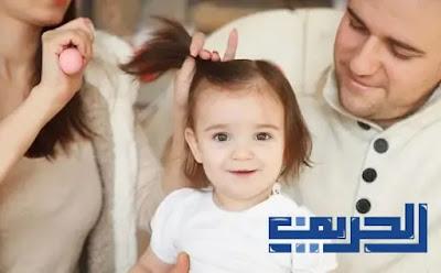 أسباب تساقط الشعر عند الأطفال وكيفية علاجه