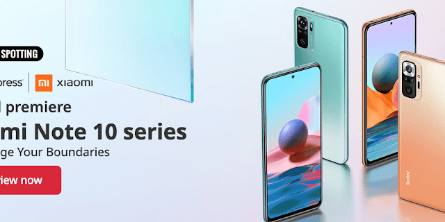 Cheap Game Phone - Redmi Note 10 Global Series Sales start from 8th March 2021