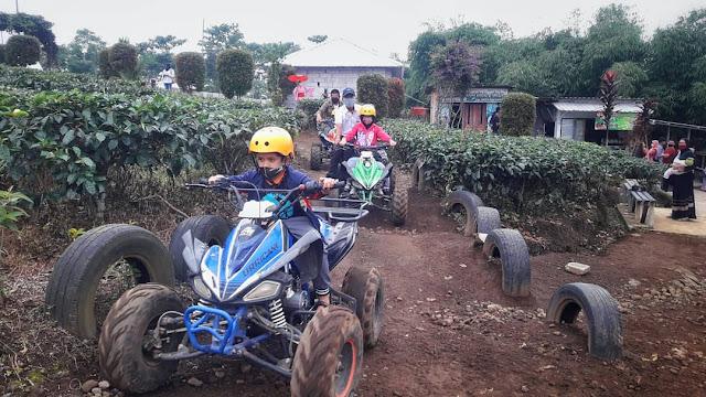 Wahana ATV wisata lembah asri Purbalingga