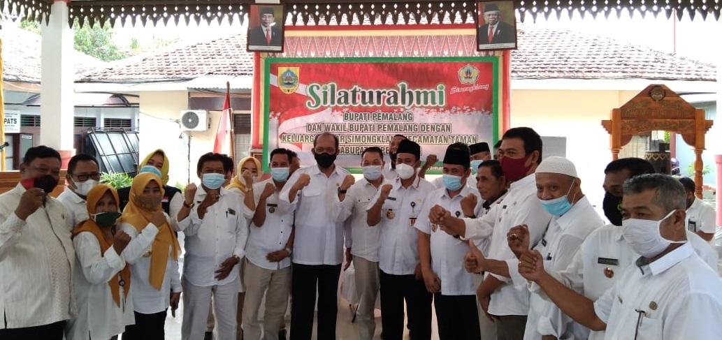 Bupati Pemalang Menghadiri Acara Silaturahhmi Paguyuban Simongklang di Kecamatan Taman