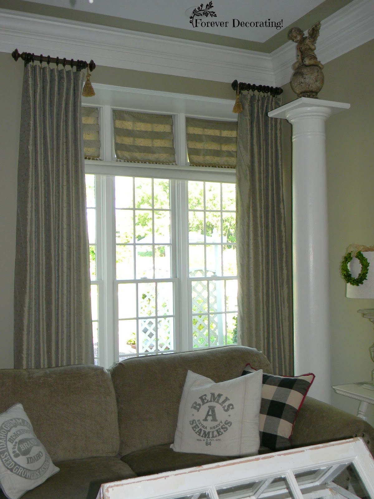 Forever Decorating!: How I Solved Problems with My Curtain ...