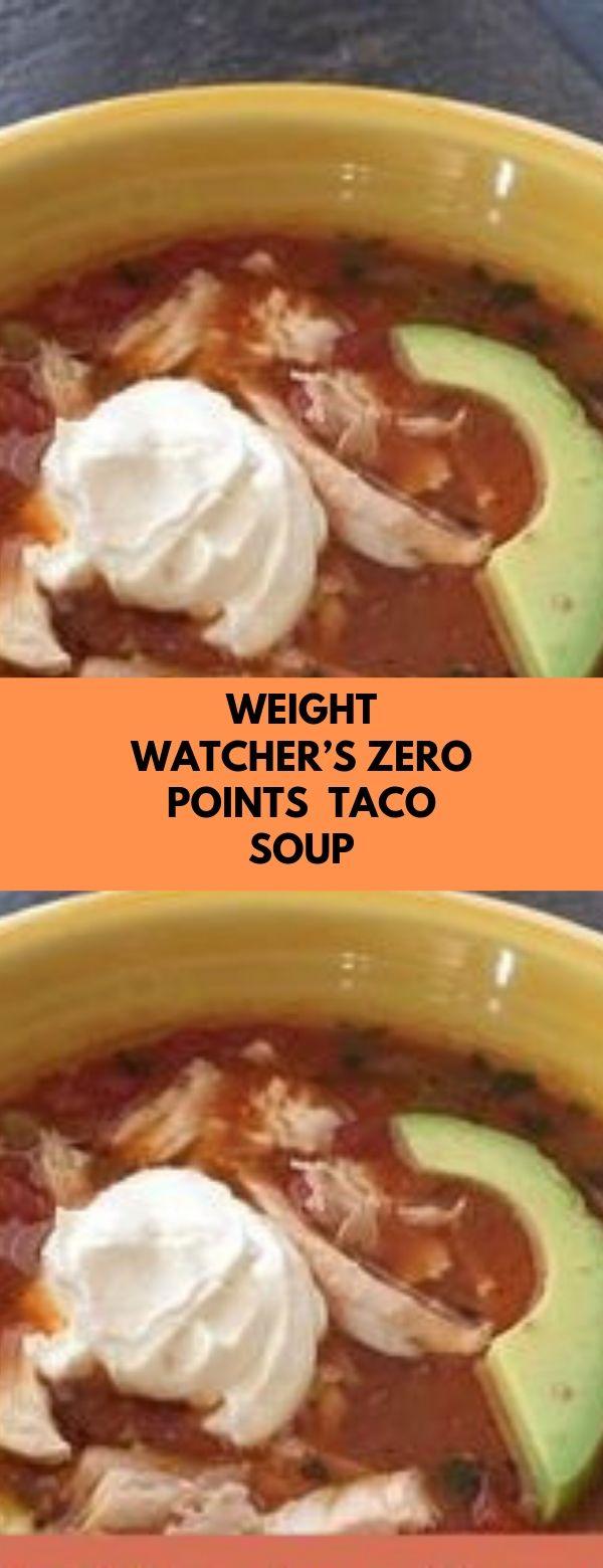 Weight Watcher's Zero Points  Taco Soup #soup #weightwatchers #zeropoints