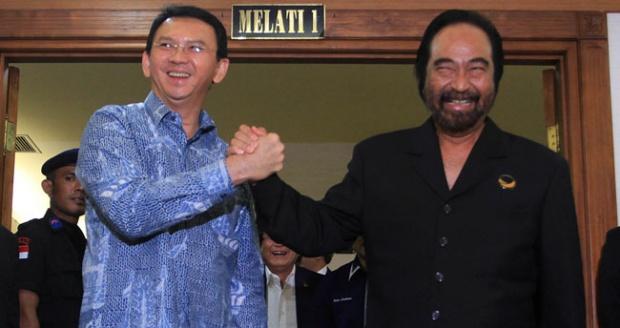 Nasdem DKI Jakarta: Kita Tak Geser Sedikit pun Dukung Ahok-Djarot
