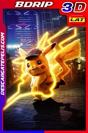 Pokémon. Detective Pikachu 2019 3D 1080p BDrip Latino – Inglés