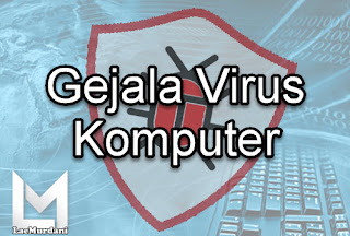 tanda laptop kena virus