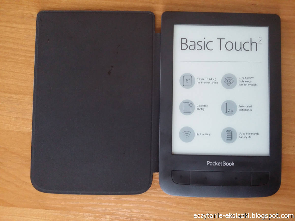 PocketBook Basic Touch 2 Save & Safe zintegrowany z okładką