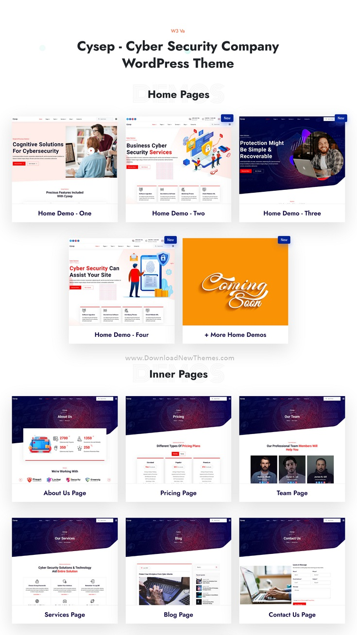 Cyber Security Services WordPress Theme
