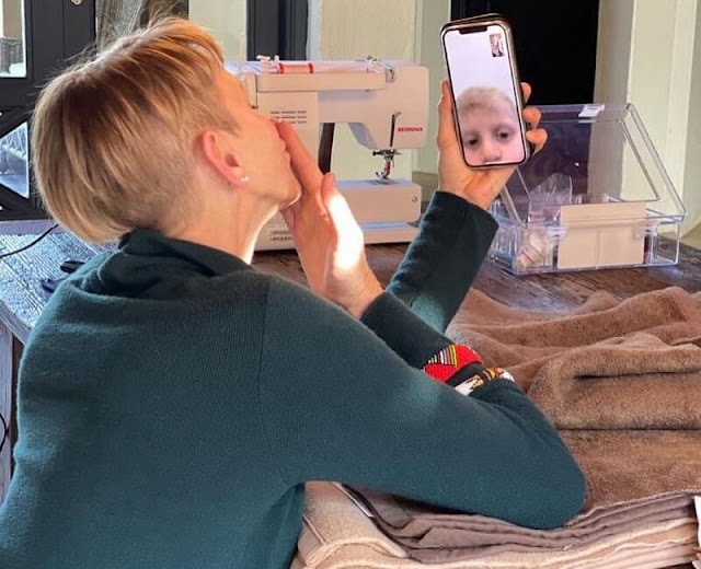 Princess Charlene shared some new photos of herself on her Instagram account. Prince Jacques and Princess Gabriella