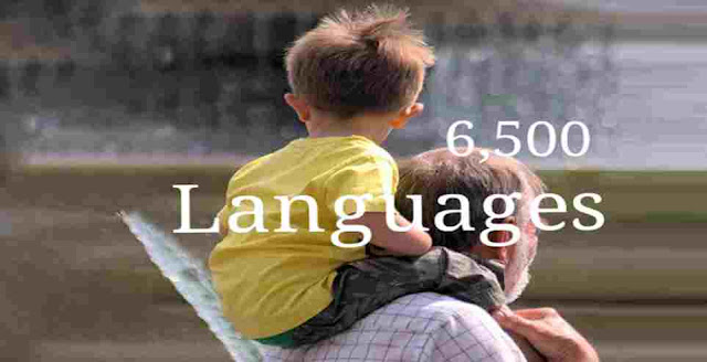 How many languages exist in the world today?