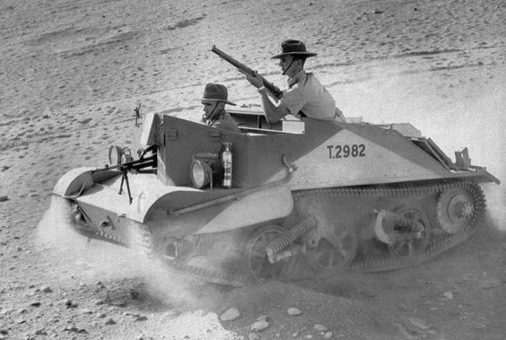 7 January 1941 worldwartwo.filminspector.com Australian troops North Africa Bren gun carrier